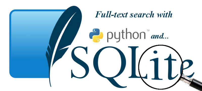 Full-text search with SQLite