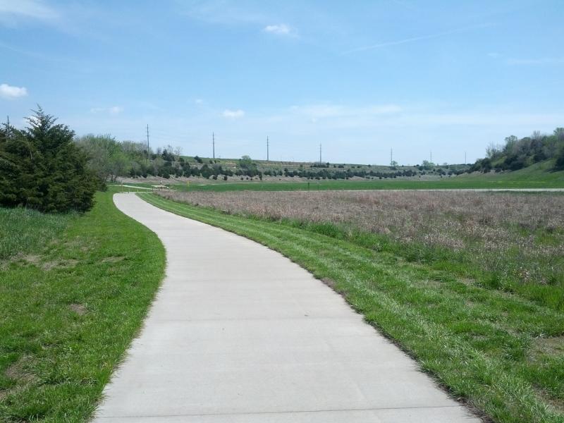 Clinton lake trail